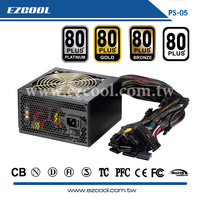 Dongguan factory 80PLUS ATX300W~1000W power supply with APFC