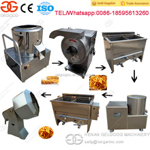 Most Popular Small Scale Potato Chips Production Line Potato Chips Factory Machines