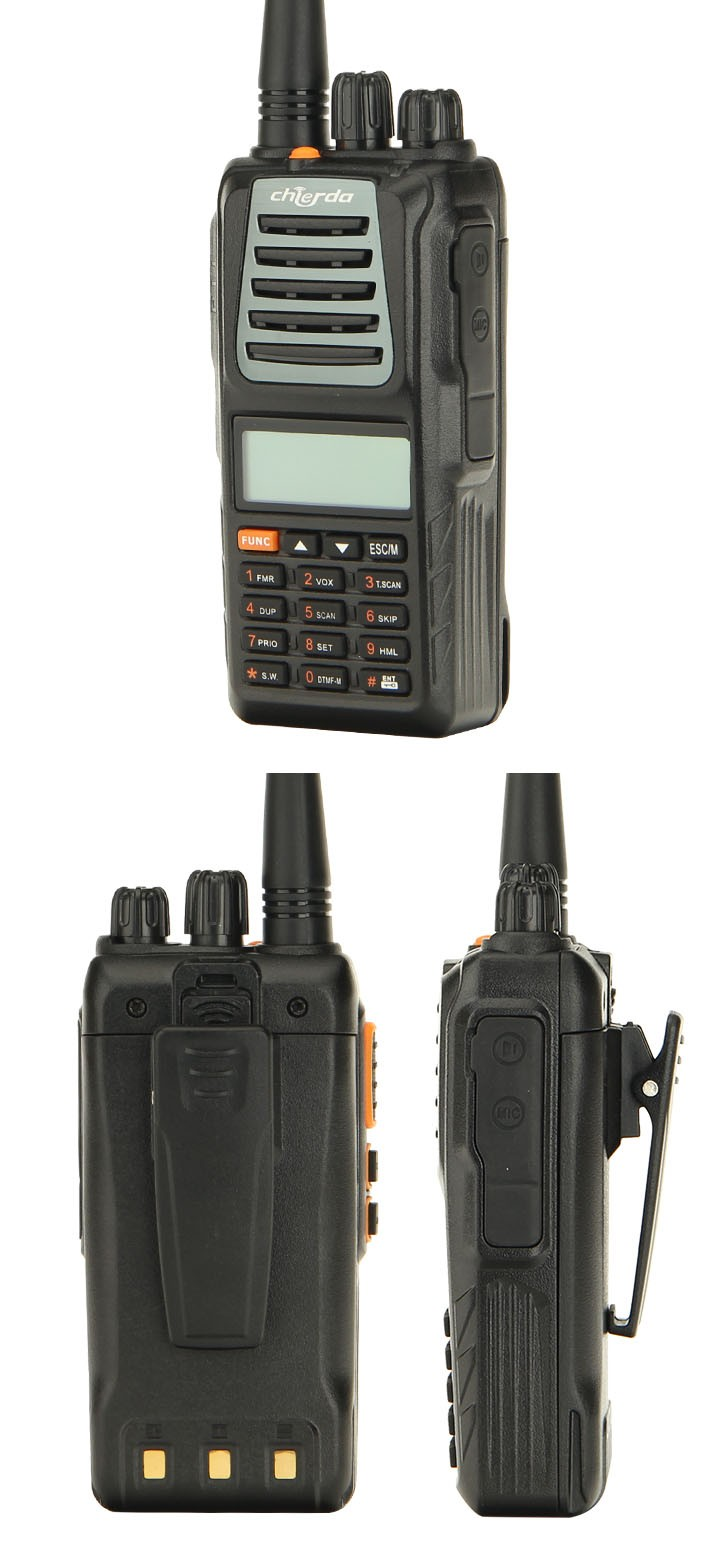chierda cd x2 police radio ht walkie talkie with scrambler view