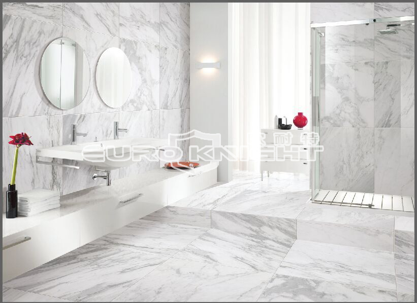 Sgs Iso9002 Calacatta Gold Porcelain Tile Marble Look Floor Tile Designs For Home Improvement