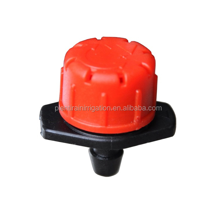 Agricultural Plastic irrigation adjustable on line dripper