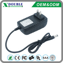 12 1.5A wall mount power adapter ac