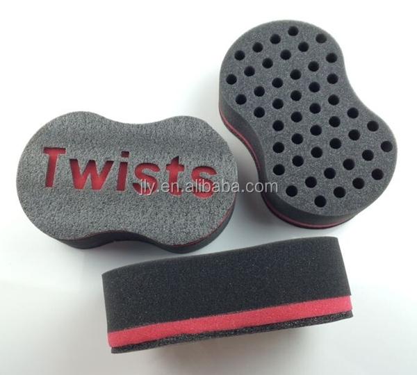 sponge brush. twist hair sponge brush for dreads and loc curl