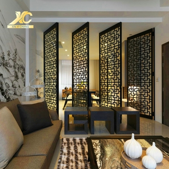 Design Decorative Living Room Flexible Metal Partition ...