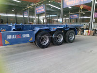 Cheap skeleton semi trailer and truck for sale,with Fuwa axle