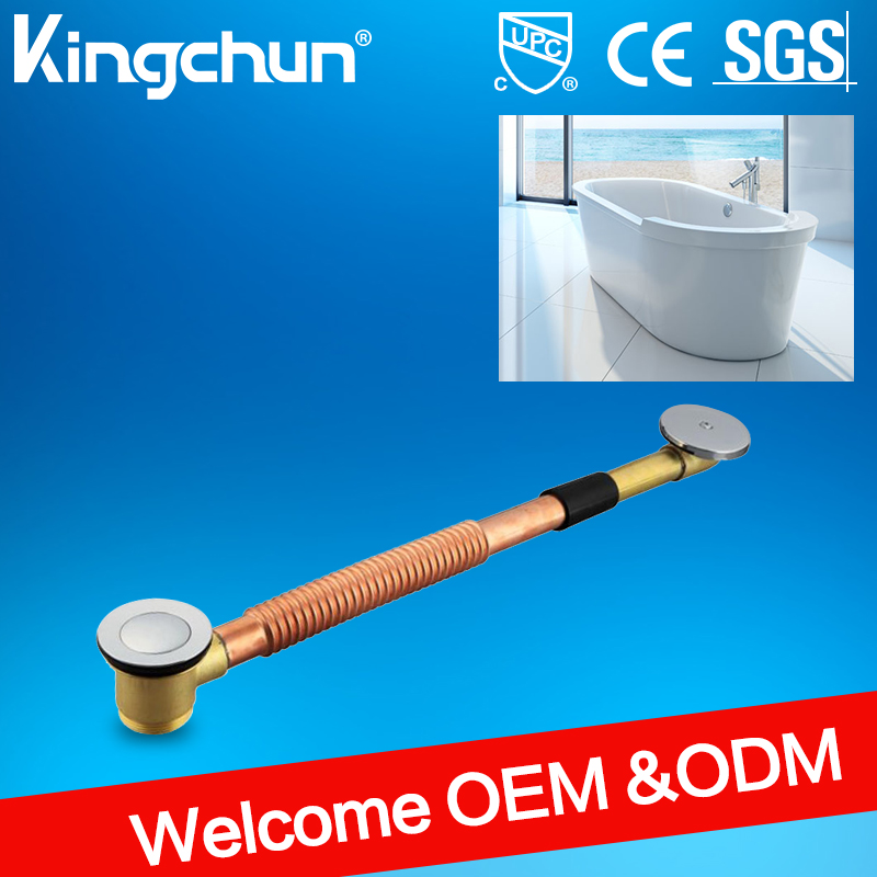Kingchun Watermark bathroom accessory brass drain bathtub drain plugs tub