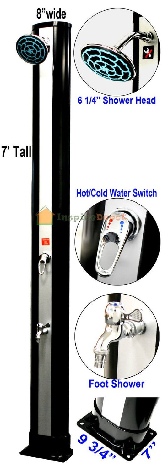 lo solar image shower accessories wenzel camping