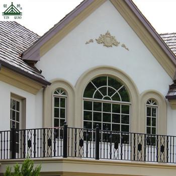 Desain Eksterior Rumah Grc Beton Dekoratif Luar Jendela Perbatasan