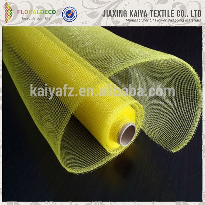 Solid Color Wholesale Deco Poly Mesh