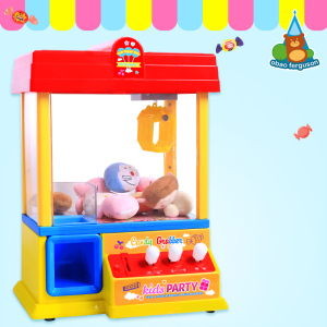 B/O candy grabber toys with music Table games candy grabber machine Toy with USB charging line
