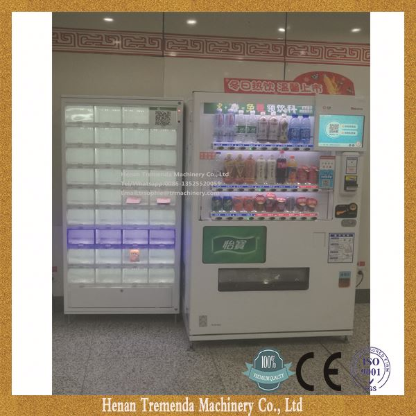 CE APPROVED combo vending machine in China