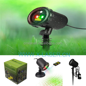 IP65 Waterproof Outdoor Christmas Light Projector Laser Light for Holiday/Home/Garden/Party Decoration