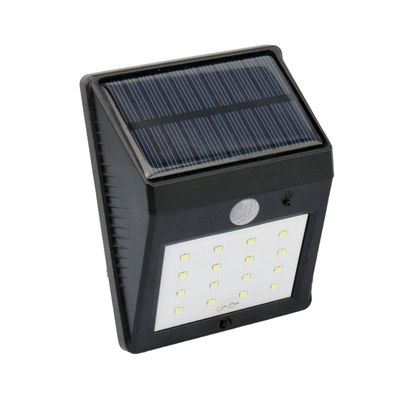 Outdoor Lighting 16 LED Solar Power Lamp Decoration Porch Lantern For Home Garden