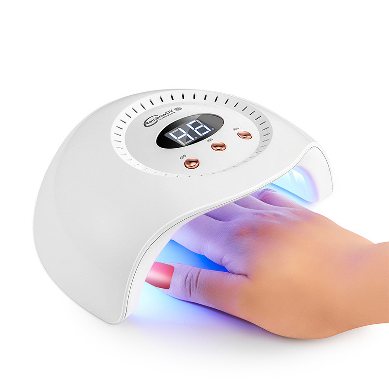 24W Intelligent Double Light Sources UV/Led Nail Dryer for Drying All Kind of Nail Gel