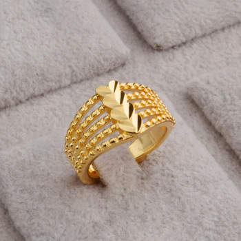 Copper Adjustable Latest Pakistani Gold Ring Designs Buy