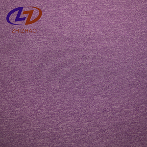 87% polyester 13% elastane polyester spandex single jersey knitting fabric