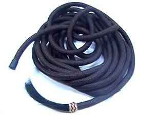 Brand 22 Poly Mecate Reins with Braided Rawhide Horse Hair Trim Horse Tack D.A