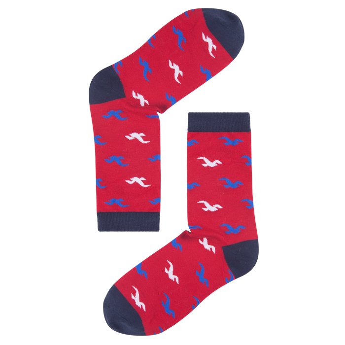 Ladies Bamboo Printed Compression Socks For Women
