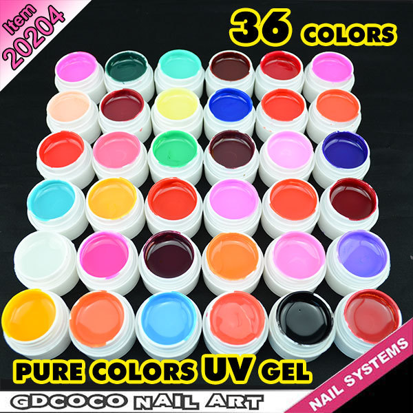 20204h Whole Nail Supplies For High Profit Margin Products Small Business Ideas 36 Color Solar