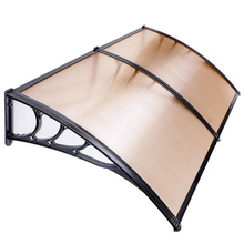 100% transparent bayer lexan used polycarbonate door canopy awnings low price