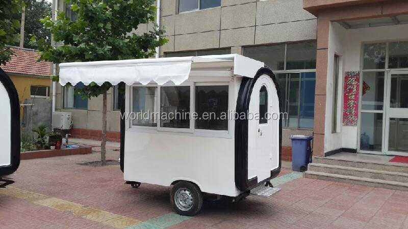 2015 Fast Food Kiosk Prices Churros Trailer Electric Mobile Truck For Sale