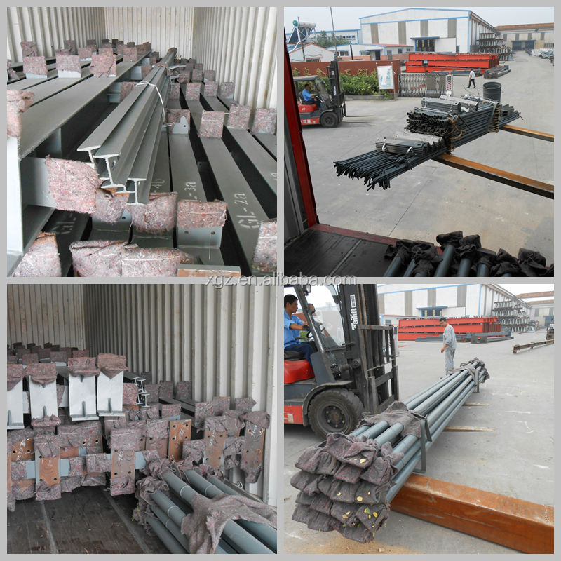 prefabricated steel structure warehouse building material
