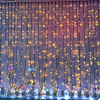 Wedding fairy light curtain decorative curtain string lights marriage decoration