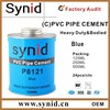 Blue PVC pipe glue for PVC pipe