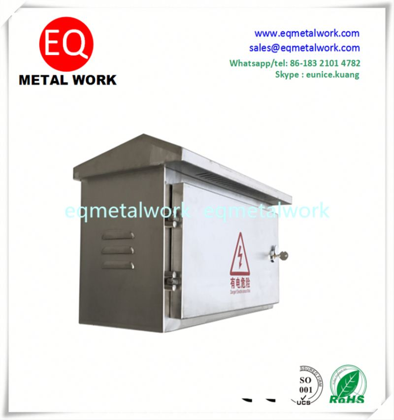 Empty metal case portable 5a power distribution box