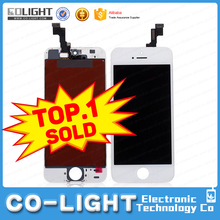 Hot sale item original lcd for iphone 5s lcd assembly with high quality with 12 months guarantee