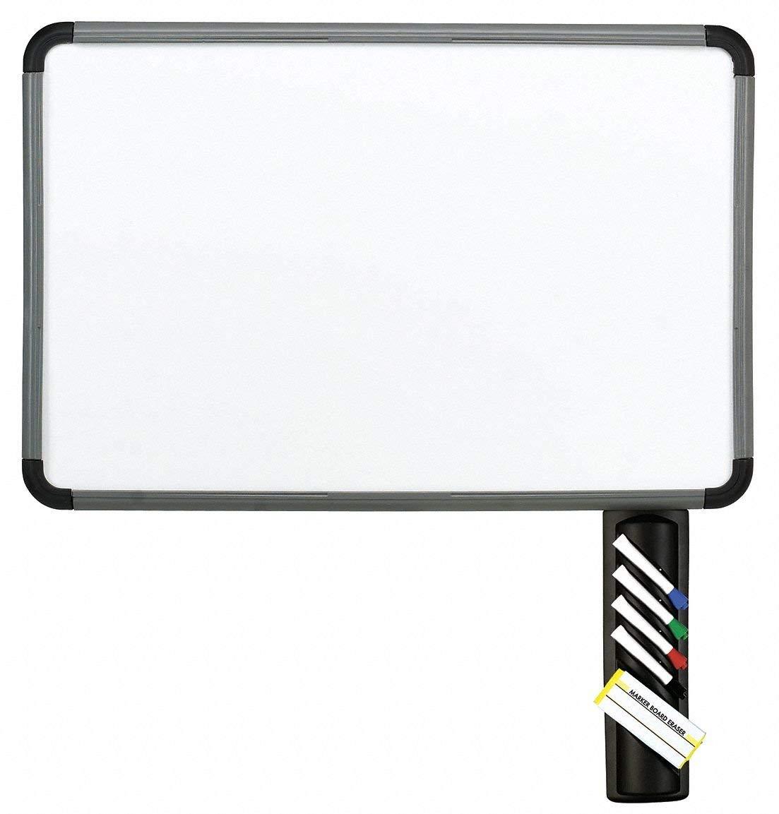 "Iceberg Gloss-Finish Melamine Dry Erase Board, Wall Mounted, 24""H x 36""W, White"