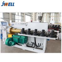 Jwell waterproof and anti-flame pvc semi-skinning foam board extrusion line