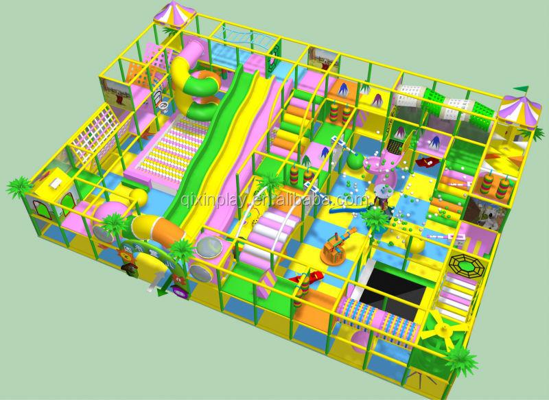 Hot Sale Indoor Jungle Gym Commercial Kids Indoor Jungle Gym