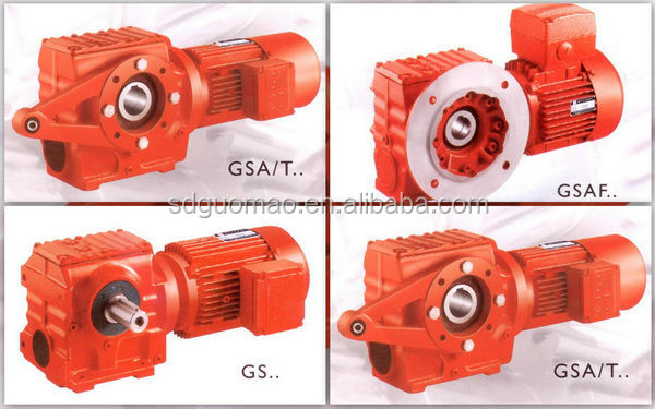 GS series worm gear reducer for cement plant