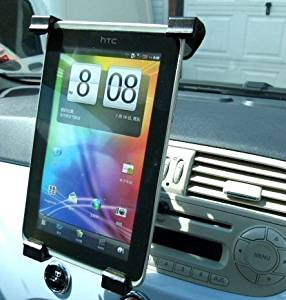 Easy Fit Vehicle Air Vent Mount fits the HTC Flyer Tablet PC (sku 10857)
