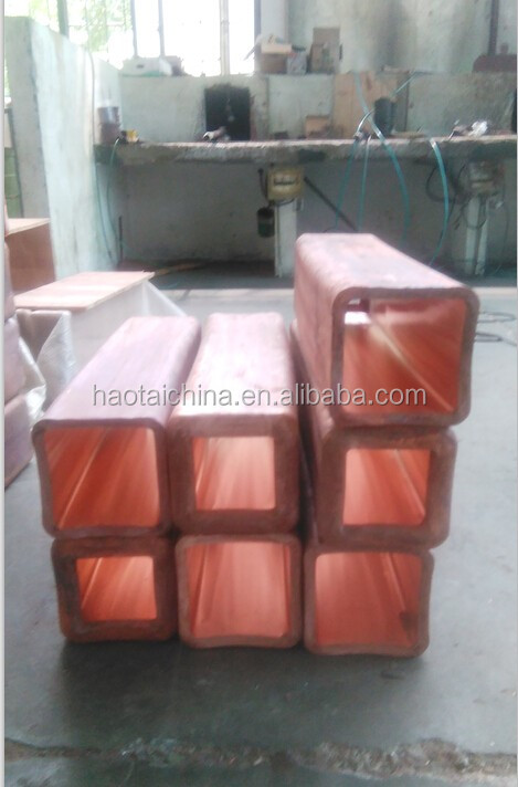 Crystallizer Copper Mould Tubes For Steel Billet Continuous Casting Machine - Buy -1378