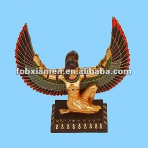 polyresin sphinx antique egyptian decoration