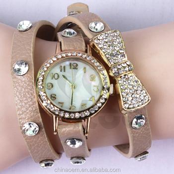 26cad3b71 New 2015! most popular luxury brand lady watch women watch with Diamond  quartz watch free