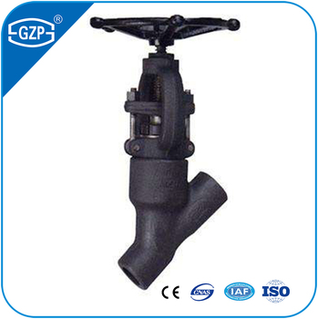 Face to Face dimensions of End face acc to DIN JIS ASME Y Type Pattern Socket welding forged Globe Valve