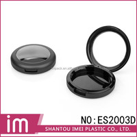 Newest empty cosmetic compact powder case eyeshadow case popular with clear window one layer
