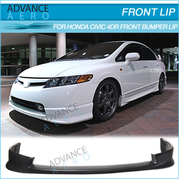 For 06 07 08 Honda Civic 4 Door Hfp Style Front Lip Spoiler Poly Urethane Buy For 06 07 08 Honda Civic 4 Door Front Lip Spoiler Hfp Style Front Lip For