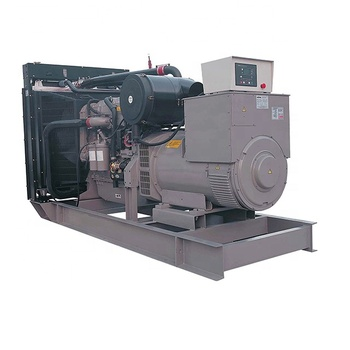 Factory direct 500kva generator of diesel power station By UK engine 2506C-E15TAG2