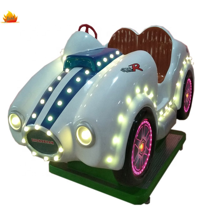 Coin operated kids entertainment equipment swing car  kiddie ride arcade games machines