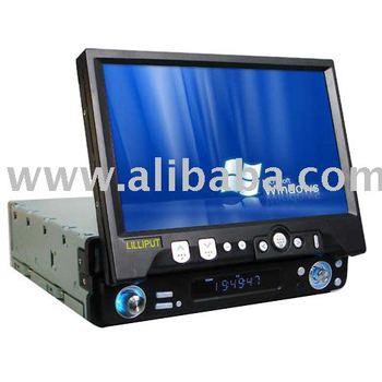 7 Inch 15 9 Wide Screen In Dash TFT LCD Touchscreen VGA
