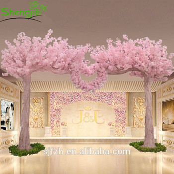Romantic Design Indoor Cherry Blossom Trees Arches For Wedding Decoration
