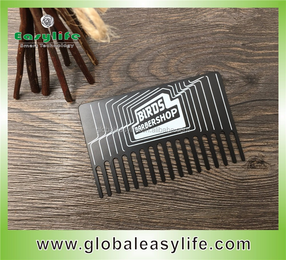 Engraved comb business cardcomb metal card with bottle opener buy engraved comb business card comb metal card with bottle opener colourmoves