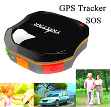 Waterproof small gps tracker with fleet management software