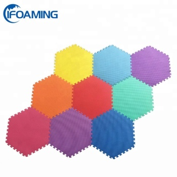 Kids Hexagon Interlocking Foam Mat