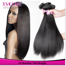 Yvonne Fashion Yaki Hair Unprocessed Virgin Brazilian Hair Extension