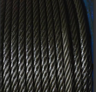 "steel core rope 3/4"" , 6*19+7*7 steel wire rope,ungalvanized and galvanized"